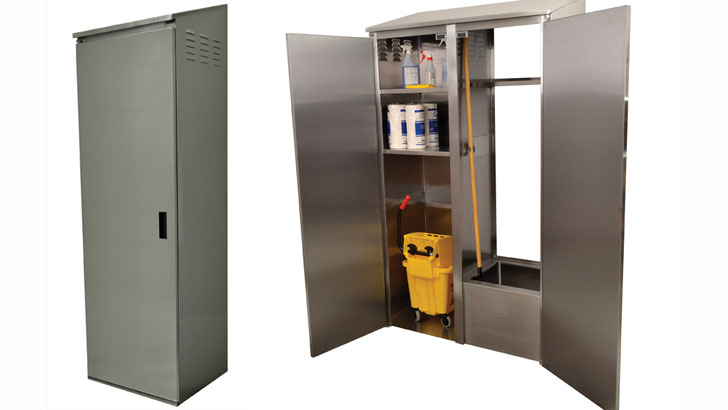 ... Tabco Introduces Stainless Steel Mop Cabinets Foodservice Consultant