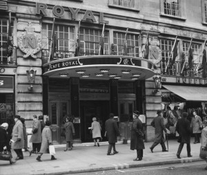 The Cafe Royal in 1965