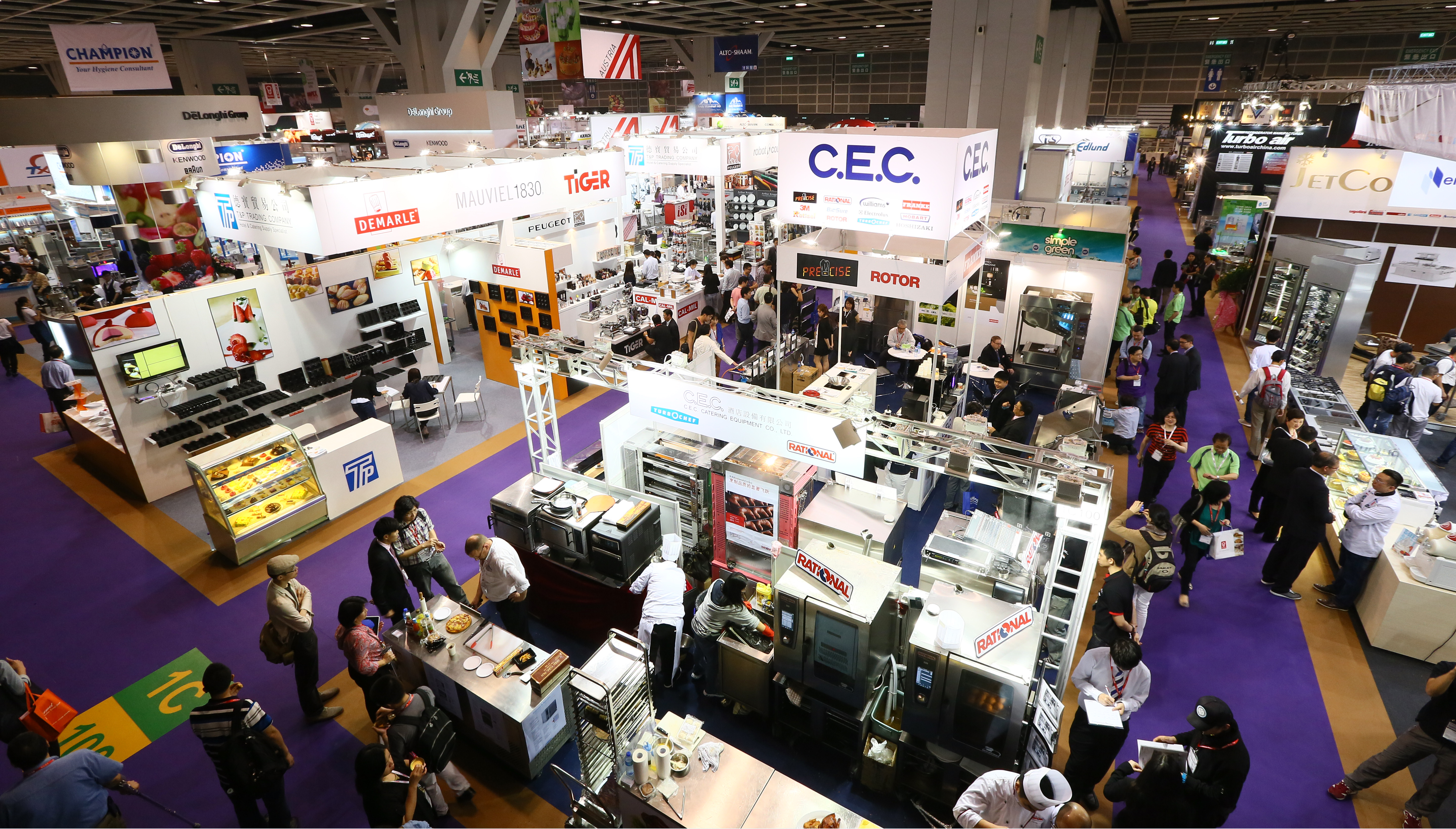Long the go-to event for foodservice professionals in the Asia Pacific region, Hotelex Shanghai on 1-3 April is the biggest yet, with 1,500 exhibitors from 124 countries preparing to welcome 80,000 visitors