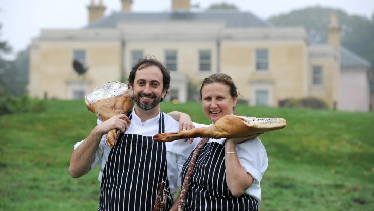 Luke Holder and Angela Hartnett