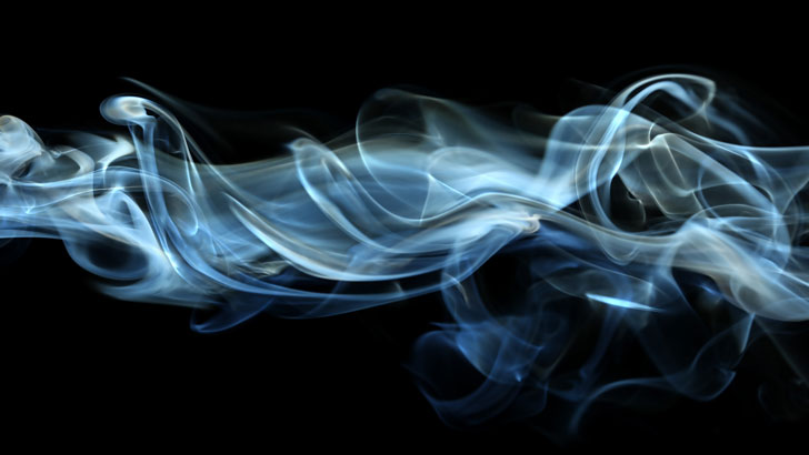 how to get clear blue smoke for smoking food
